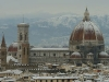 Foto Duomo di Firenze con Neve
