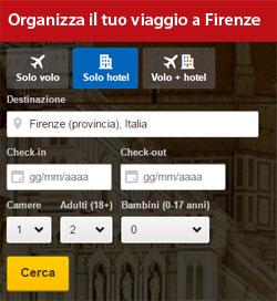 Organizza viaggio a Firenze